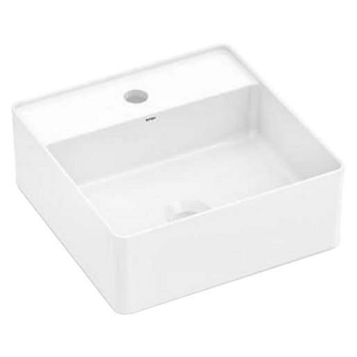 Wickes Platinum 1 Tap Hole Square Countertop Bathroom