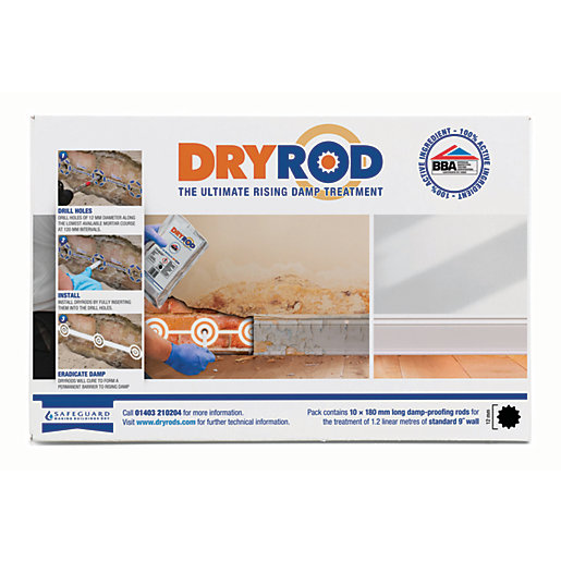 Dryrod Damp Proof Course Rods - 180mm Pack