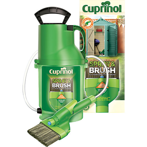 Cuprinol Exterior Colour Paint Spray & Brush 2