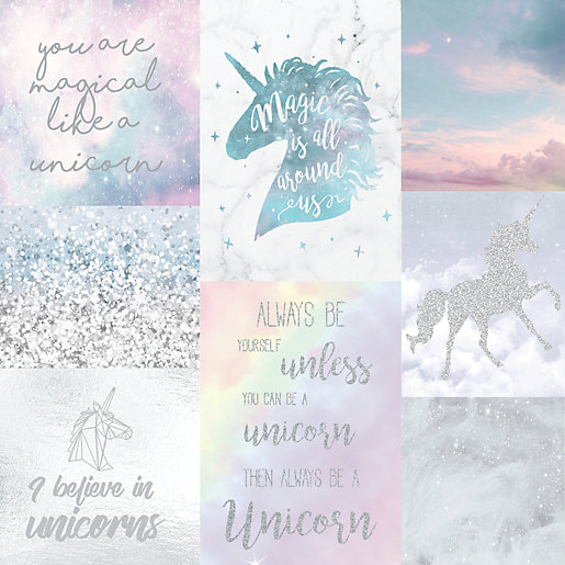 Arthouse Believe in Unicorns Wallpaper 10.05m x 53cm