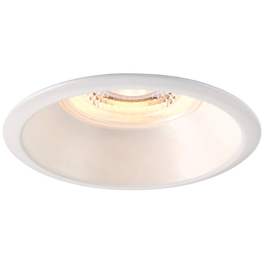 Saxby Integrated LED Fire Rated Anti-Glare IP65 Fixed
