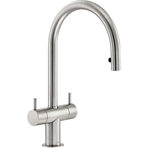 Abode Hesta Dual Lever Pull Out Sink Tap