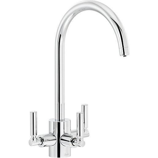 Abode Orcus Aquifier Dual Lever Filter Sink Tap