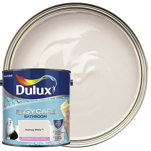Dulux Easycare Bathroom - Nutmeg White - Soft