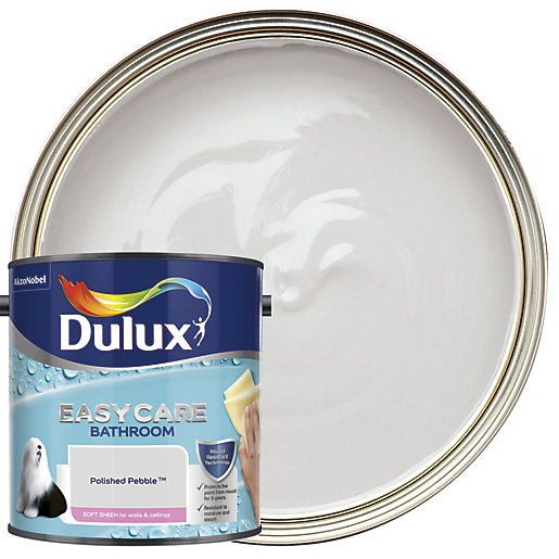 Dulux Easycare Bathroom - Polished Pebble - Soft