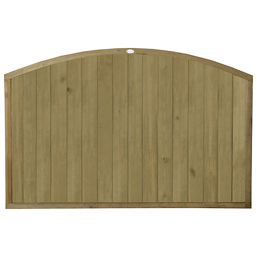 Forest Garden Vertical Domed Top Tongue & Groove