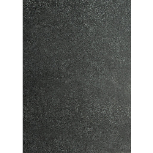 Novocore Charcoal Tile Effect Rigid Luxury Vinyl Flooring