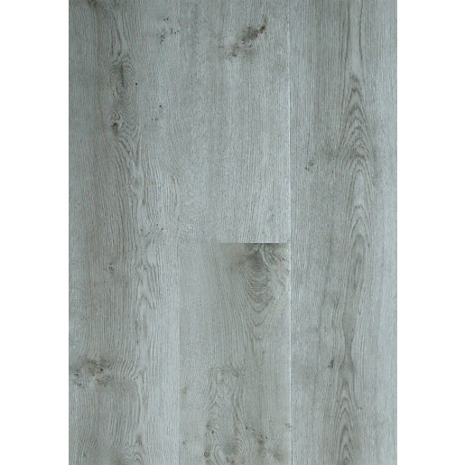 Novocore York Grey Luxury Vinyl Click Flooring Sample
