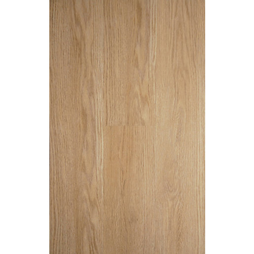 Novocore York Oak Luxury Vinyl Click Flooring Sample