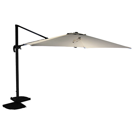 Charles Bentley 3.5M x-Large Round Cantilever Parasol -