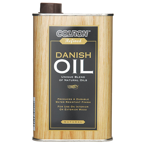 Ronseal Colron Refined Danish Oil - Clear 500ml