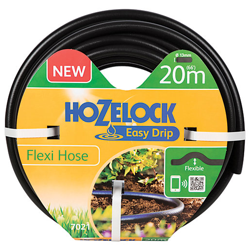Hozelock Automatic Watering 20m Flexi Hose Pipe