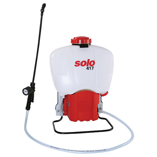Solo 417 Electric Garden Backpack Sprayer - 27L