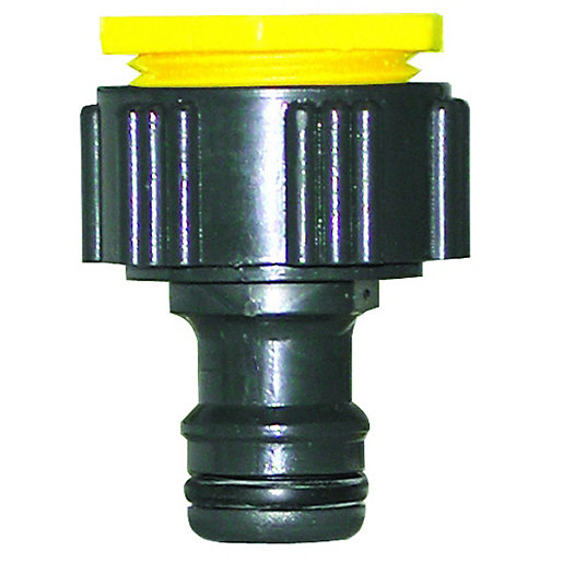 Wickes Universal Garden Hose Pipe Tap Connector Wickes Co Uk
