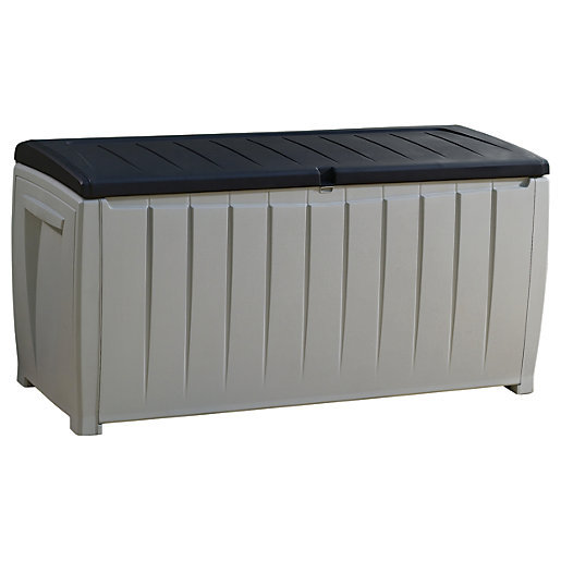 Keter Deluxe 340 Litre Capacity Deck Box