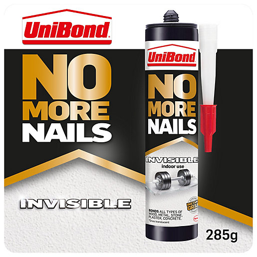Unibond No More Nails Invisible Cartridge - 285g