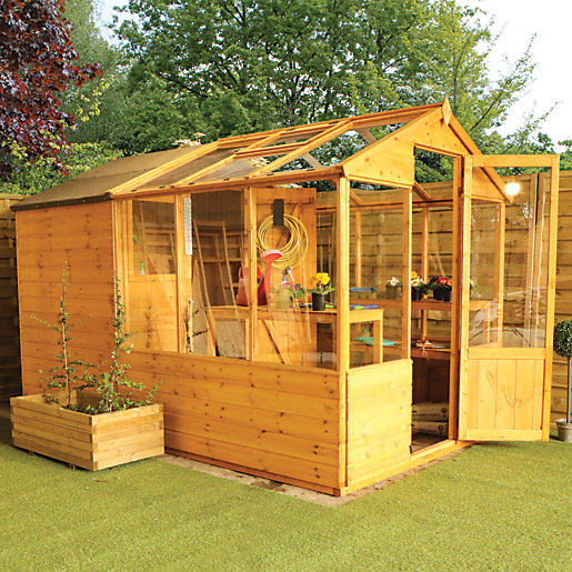 Mercia 10 x 6 ft Traditional Apex Greenhouse
