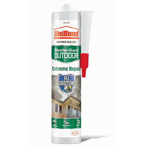UniBond Extreme Repair Sealant White - 389g