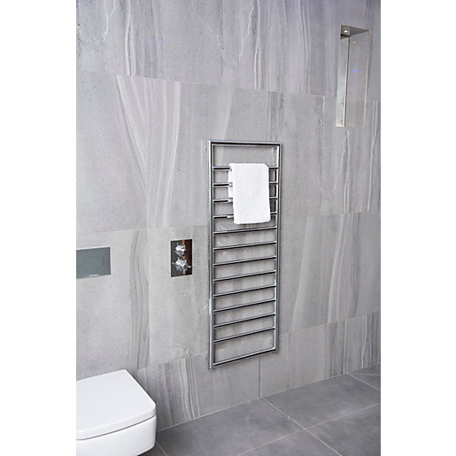 Towelrads Strand Chrome Towel Radiator - 1300 x