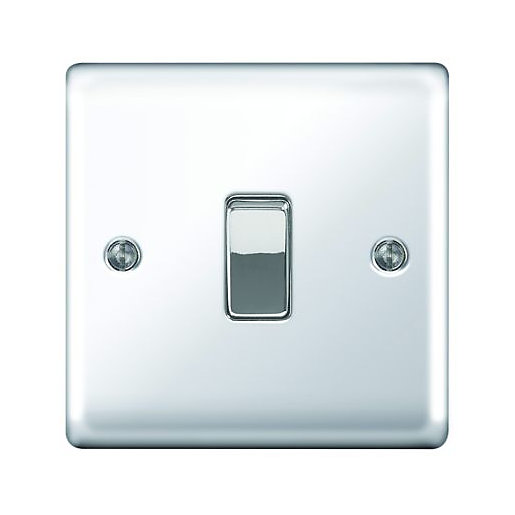 Wickes 10A Light Switch 1 Gang 2 Way