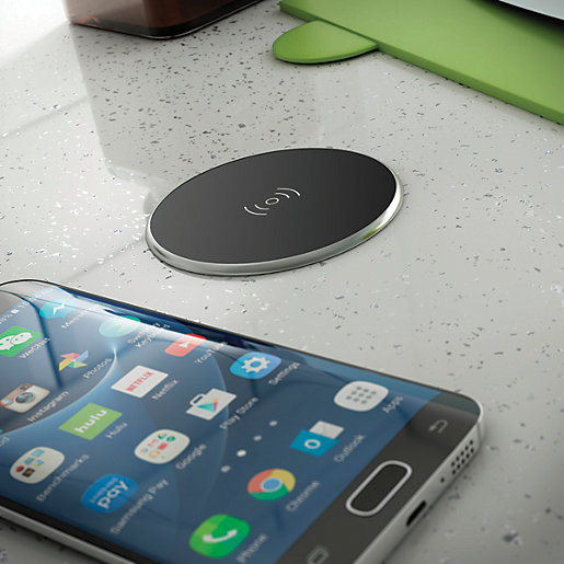 Wickes Integrated Qi Compatible Wireless Charger