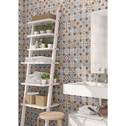 Wickes Central Park Patterned Ceramic Wall & Floor