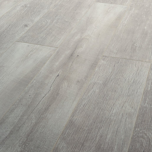 Wickes Salerno Oak Grey Laminate Flooring - 2.22m2