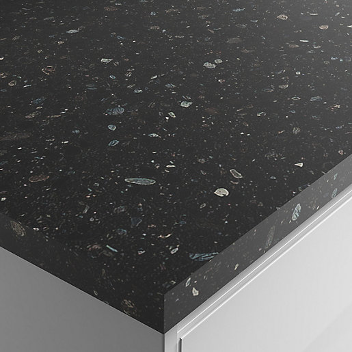 Beton Calade Square Edge Breakfast Bar 38mm X