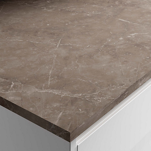 Marmo Venezia Laminate Breakfast Bar 3000x900x22mm