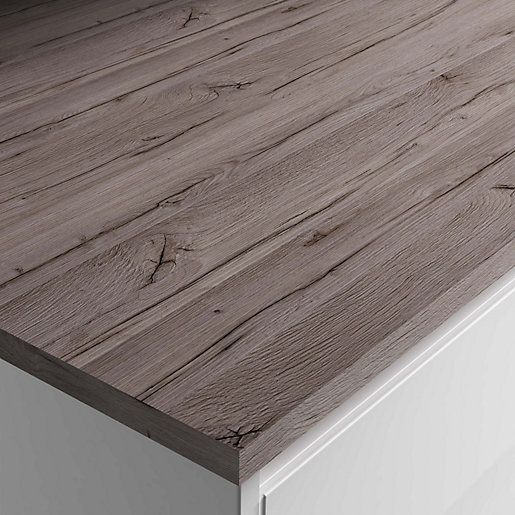 Rab Oak Laminate Breakfast Bar 3000x900x22mm