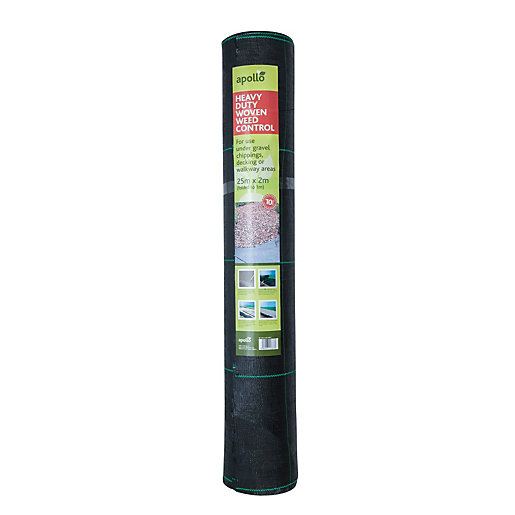 Apollo Heavy Duty Weed Control Landscape Fabric -