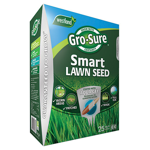 Gro-Sure Smart Seed Lawn Feed - 25m²