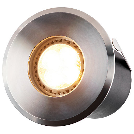 ELLUMIERE Outdoor Low Voltage LED Deck Light Stainless