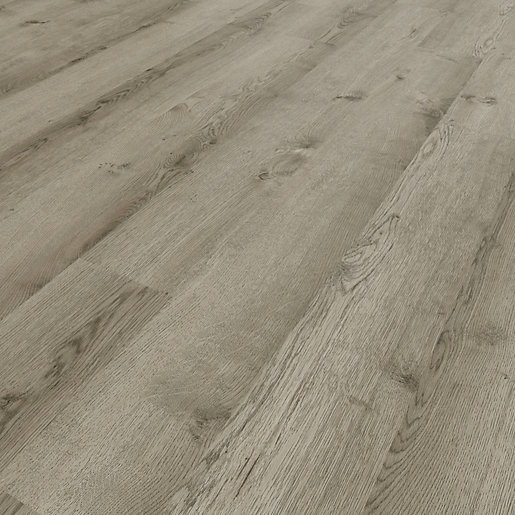 Novocore York Grey Luxury Vinyl Click Flooring -