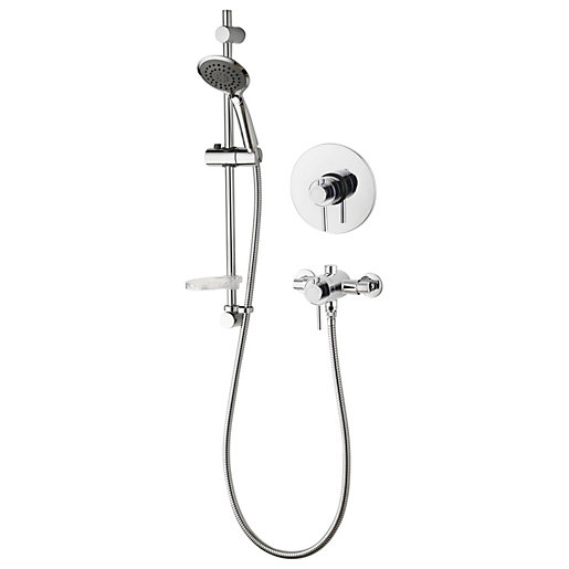Aqualisa Concentric Single Outlet Shower Valve with Built