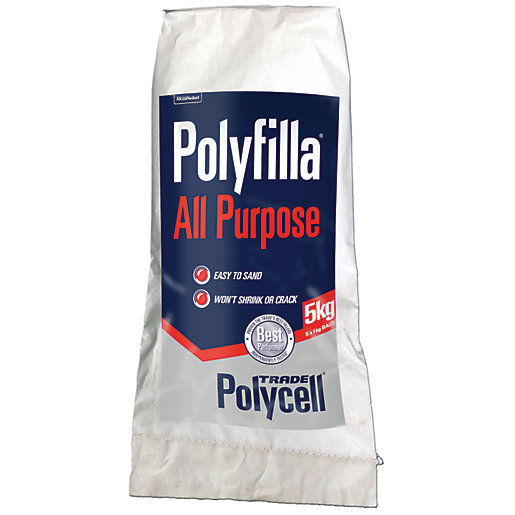 Polycell Trade Polyfilla All Purpose Powder Filler -