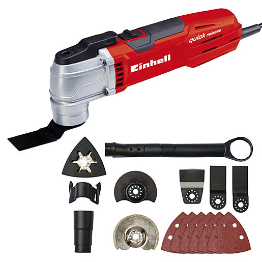 Einhell TE-MG 300 EQ Corded Multi Tool -