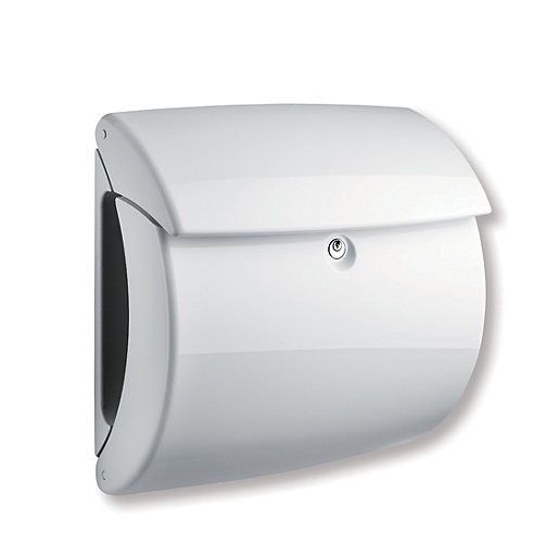 BURG-WACHTER Piano Post Box - White