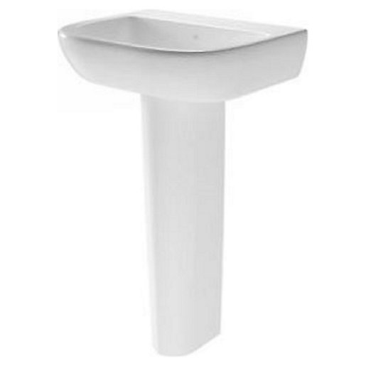 Wickes Galeria Ceramic 1 Tap Hole Basin With