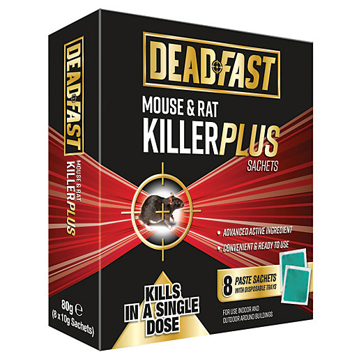Deadfast Mouse and Rat Killer Plus - 8