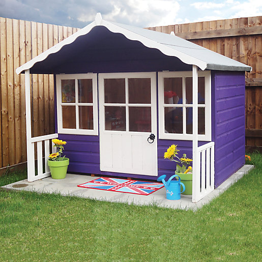 Shire 6 x 5ft Pixie Wooden Playhouse with