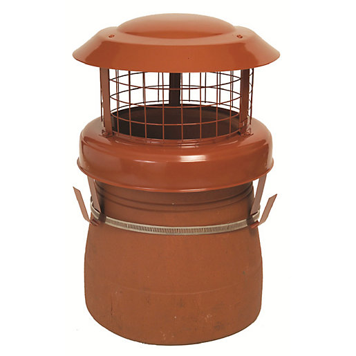 Chimney Birdguard Aluminium & Stainless Steel
