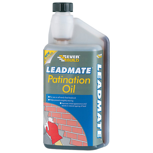 Everbuild Lead Mate Roofing Patination Oil - 500ml