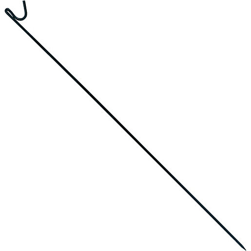 Wickes Safety Fencing Stake Black - 1.3m