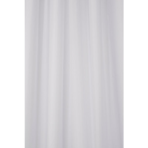 Croydex 'Hook And Hang' Shower Curtain - White