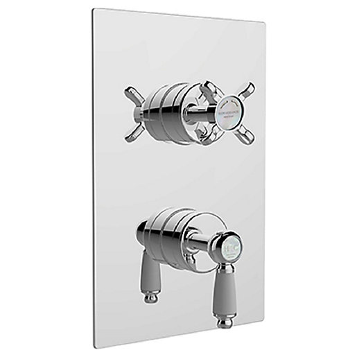 Bristan Renaissance 2 Recessed Dual Control Shower with