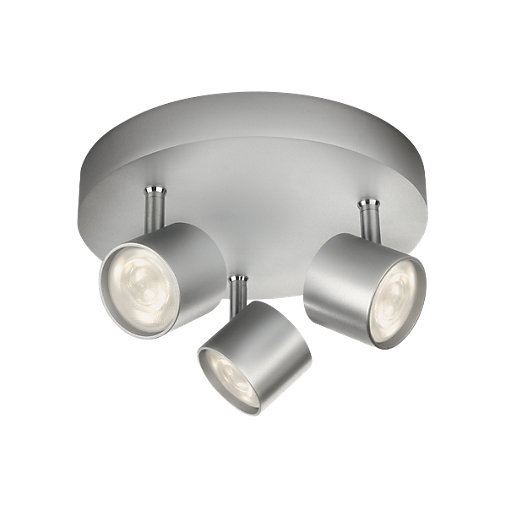 Philips Star LED Aluminium 3 Plate Spotlight -