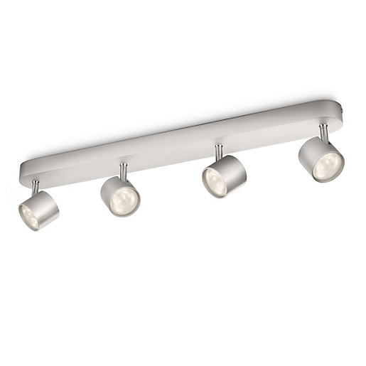 Philips Star LED Aluminium 4 Bar Spotlight -