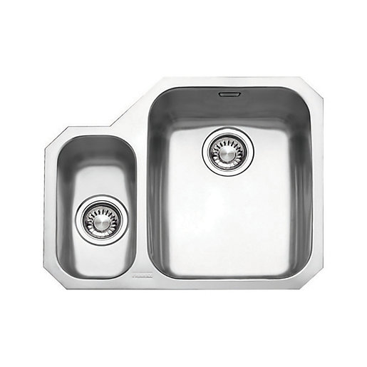 Franke Ariane 1.5 Bowl LHD Stainless Steel Kitchen