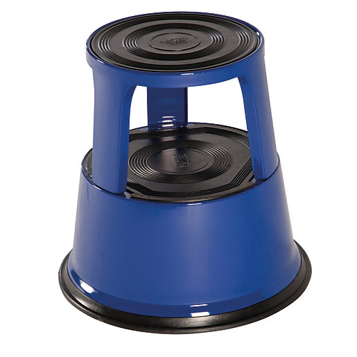 Kik 0.43m Step Steel Stool Blue
